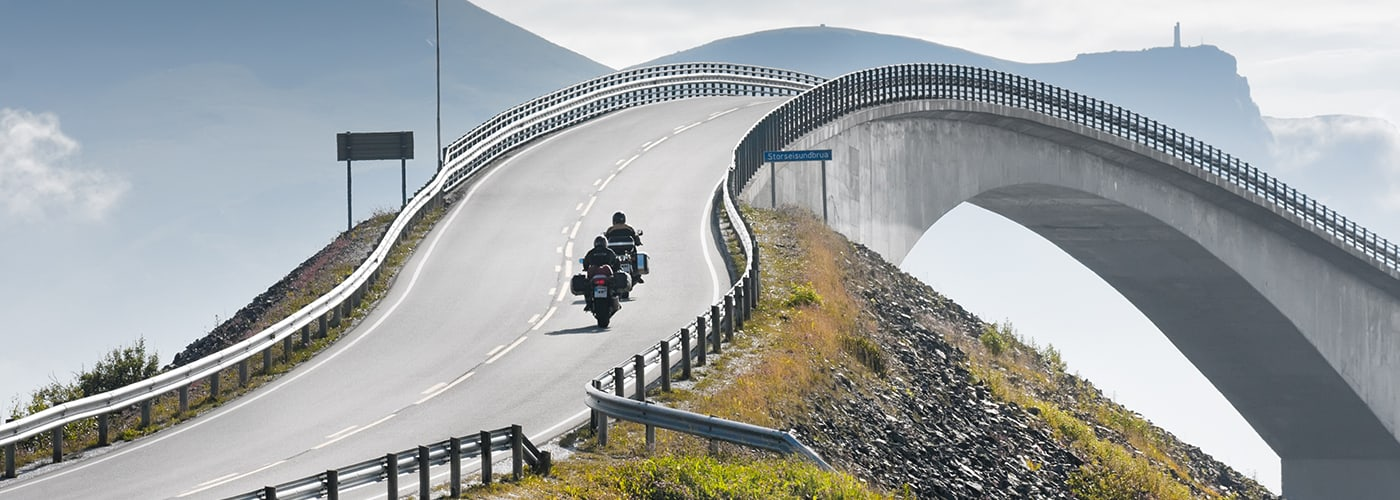 Best Places to Ride a Motorcycle