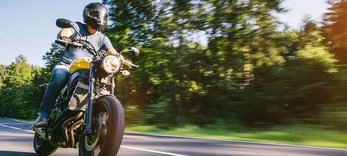 Riding-a-Motorcycle-in-the-Summer