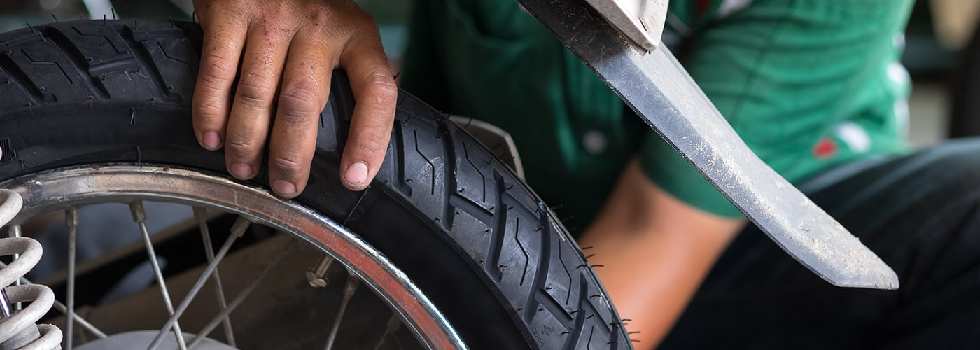 How Summer Heat Affects Motorcycle Tires