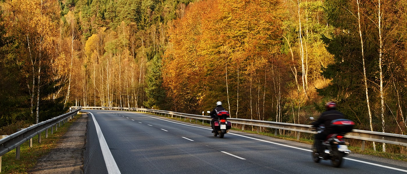 5 Motorcycle Riding Tips in Autumn